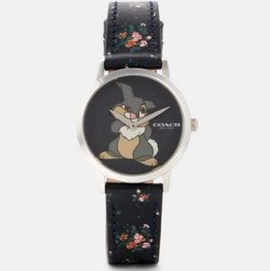 NWT Disney X Coach Chelsea Watch With Thumper
